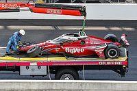 """Pigot se """"rappelle tout"""" de son crash à l'Indy 500"""