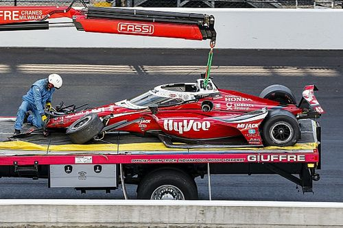 """Spencer Pigot """"remembers everything"""" of Indy 500 horror crash"""