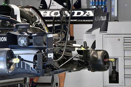 GALERÍA TÉCNICA: novedades de los F1 en directo desde los garajes