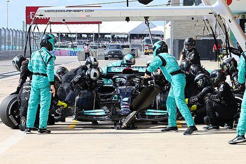 F1: Mercedes explica por que não repetiu estratégia da Red Bull em Austin