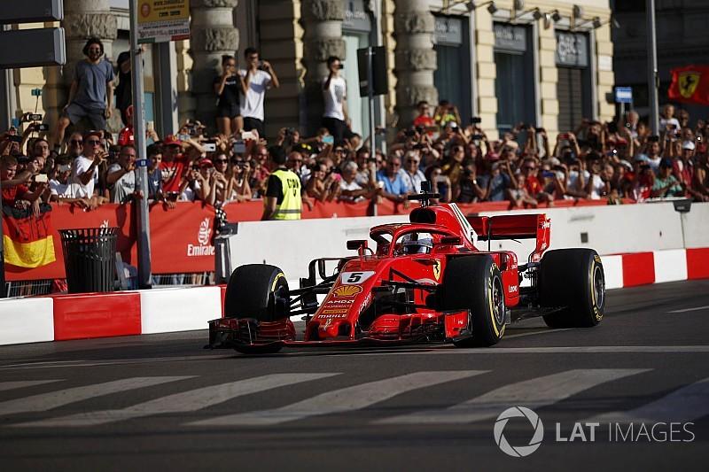 Sebastian Vettel: Demo-Crash ist ihm