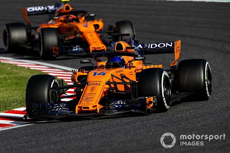 McLaren снова сделала странный выбор шин. Теперь на Гран При США
