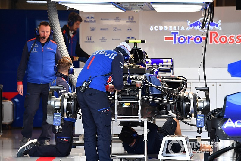 Gasly seul à profiter de l'évolution Toro Rosso à Austin