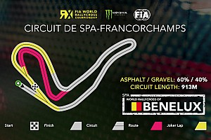 Spa reveals circuit map for World RX round