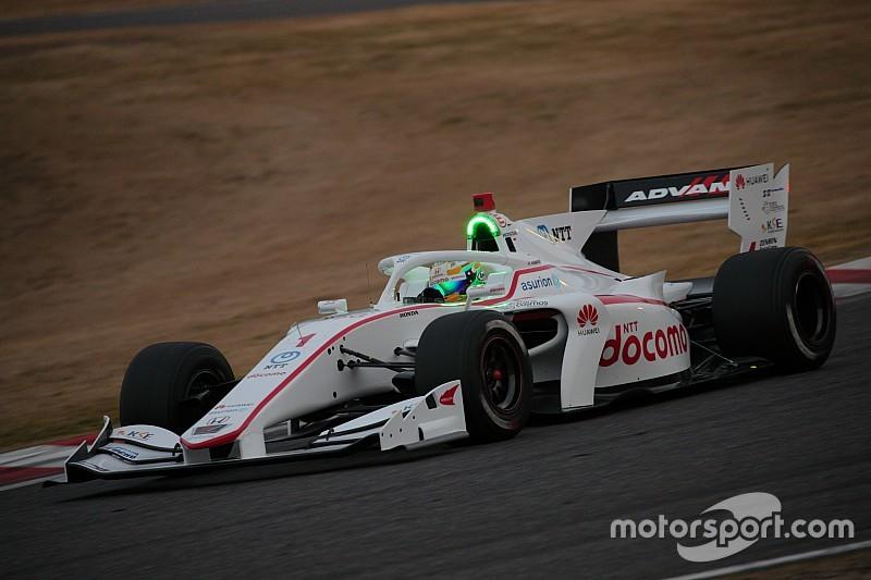 Super Formula takımları, 2019 aracıyla ilk sürüşü yaptılar