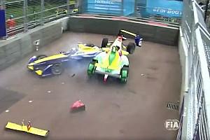 Formula E Gara Botto dopo il via a Londra: Di Grassi ha centrato Buemi!