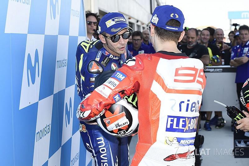 """Jorge Lorenzo: """"Rossi ist ein Beispiel für uns alle"""""""