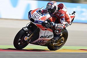 MotoGP Noticias de última hora Dovizioso no estaba preparado para correr en Aragón