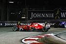 El motor del Ferrari de Vettel sobrevivió al caos de Singapur