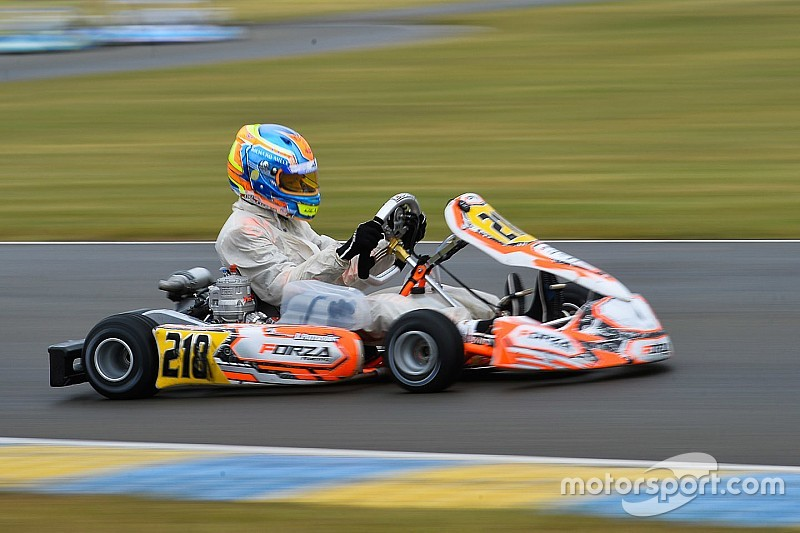 Britons Keirle, Patterson become 2017 karting world champions