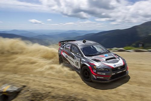 Subaru driver Travis Pastrana smashes Mt. Washington Hillclimb record