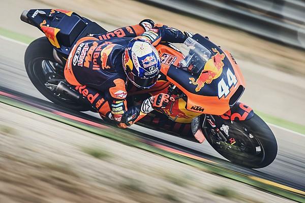 Miguel Oliveira ha provato la KTM MotoGP in un test ad Aragon