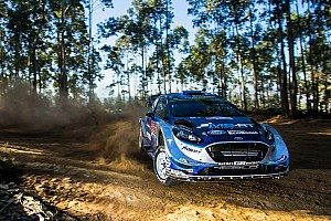 WRC Stage report Portugal WRC: Three victory contenders hit trouble, Tanak leads