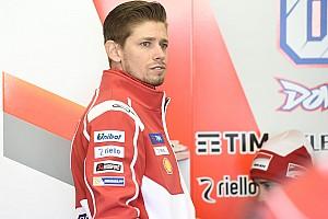 MotoGP Nieuws Stoner in actie tijdens privétest Ducati in Valencia