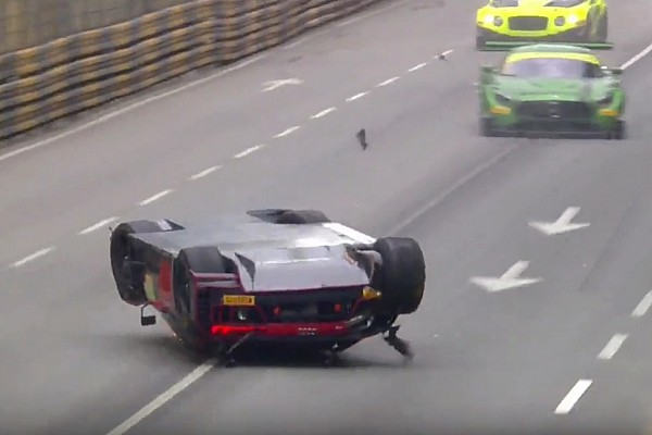 GT GT World Cup: Vanthoor declared winner after massive airborne crash