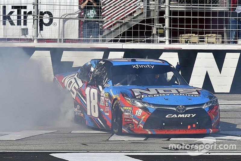 NASCAR Xfinity winner Kyle Busch faces