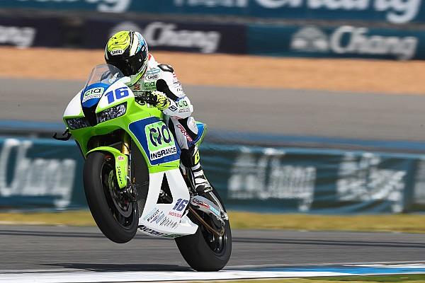 Cluzel au départ des 24 Heures Motos 2017