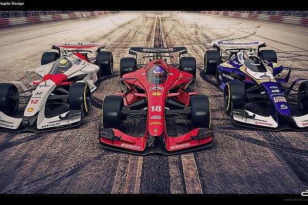 Formula 1 En iyiler listesi Galeri: Klasik renk düzeniyle 2025 F1 konsept araçları