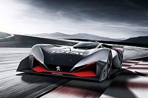 eSports Breaking news Peugeot luncurkan sportscar virtual L750 R HYbrid Vision GT