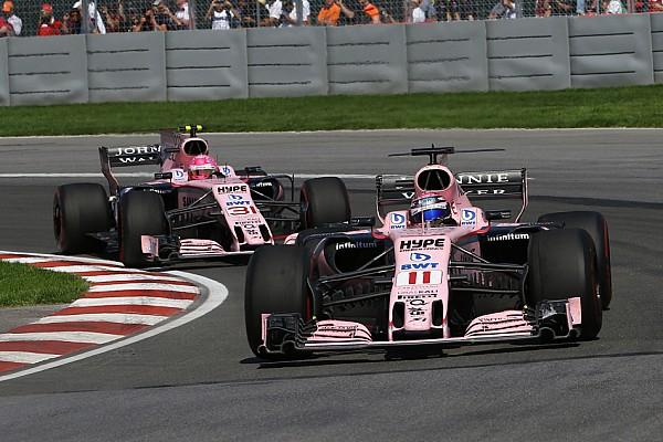 Формула 1 В Force India пожалели, что не приказали Пересу пропустить Окона