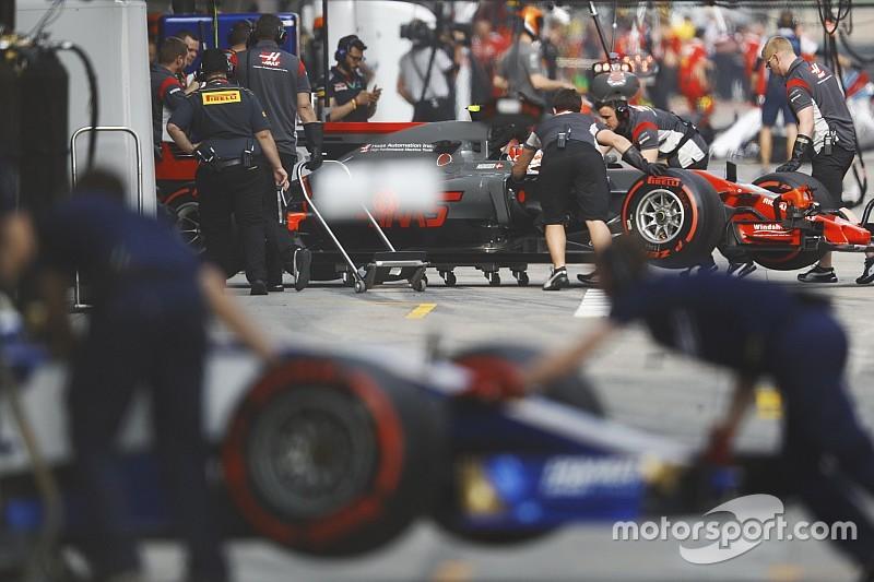 Les trains de pneus par pilote pour le GP de Chine