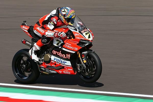 World Superbike WorldSBK Italia: Davies pole di hadapan fans Ducati