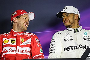 Fórmula 1 Noticias Para Hamilton, la batalla por el título con Vettel es su favorita