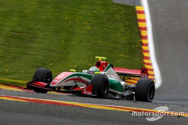 Podio de Alfonso Celis en Spa para ser líder del campeonato