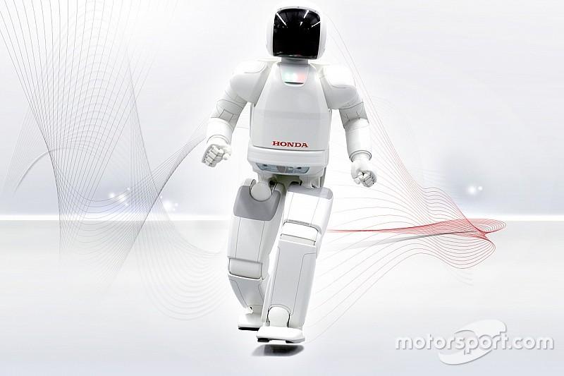 Робот ASIMO будет гранд-маршалом на Гран При Алабамы