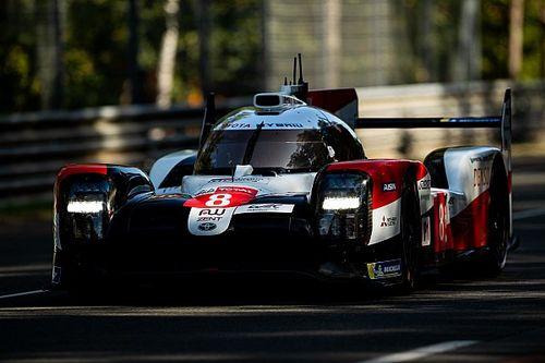 Le Mans 24h: Buemi y Toyota lideran el warm up en mojado