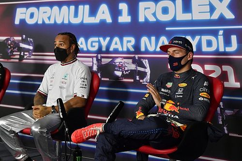 F1-update: Maat vol voor Verstappen in persconferentie, Hamilton geslepen
