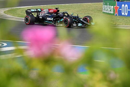 """Hamilton dément l'idée """"bête"""" selon laquelle il a ralenti les Red Bull"""