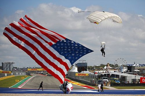 Las fotos del intenso (y polémico) GP de Estados Unidos 2021 F1