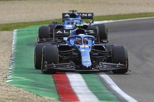 Alonso reconnaît ne pas être au niveau d'Ocon