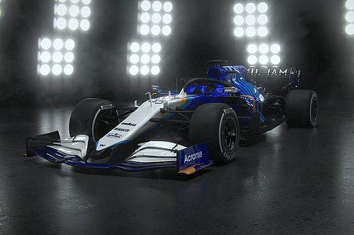 Williams toont auto met opvallende livery voor F1-seizoen 2021