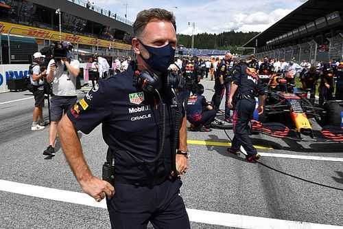 Horner mantiene sus críticas a los festejos de Mercedes en Silverstone