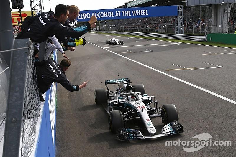 GP Italia: Hamilton menang lagi di Monza setelah tertabrak Vettel