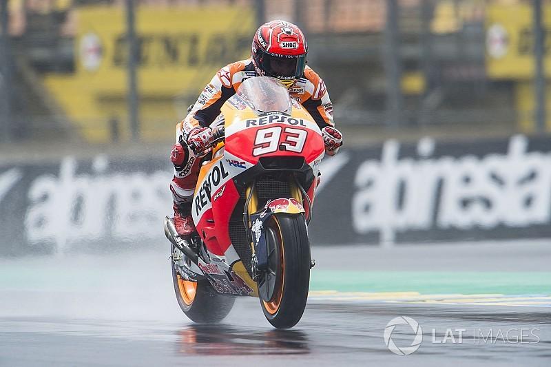 MotoGP San Marino: Terjatuh lagi, Marquez puncaki warm-up
