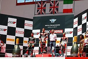 WSBK Репортаж з гонки WSBK, Імола: Девіс виграв суботню гонку після червоних прапорів