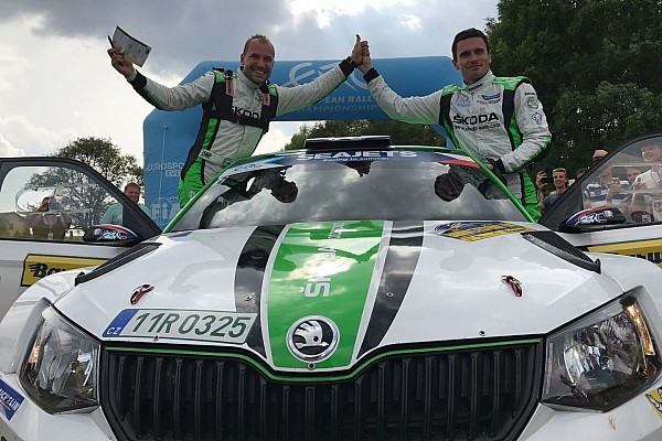 Jan Kopecký trionfa al Barum Rally, Griebel Campione Junior U28