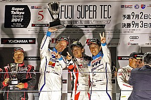 スーパー耐久 レースレポート 富士SUPER TECでシビックTCRの連勝がストップ。ゴルフTCRが初優勝