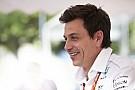 """Formule 1 Wolff: """"Nooit met Verstappen gesproken over een contract"""""""