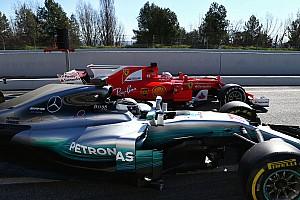 F1 Reporte de pruebas Ricciardo admite que Mercedes y Ferrari están adelante
