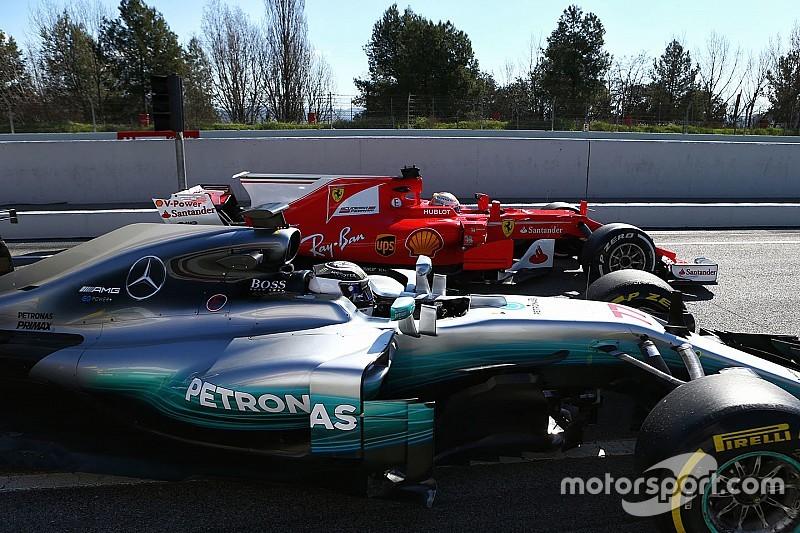 Ricciardo admite que Mercedes y Ferrari están adelante