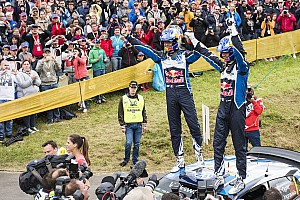 WRC Stage report Germany WRC: Ogier seals victory, Sordo clings to second