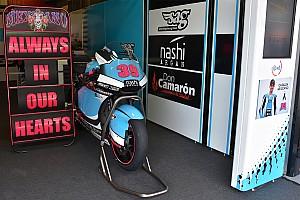 Moto2 突发新闻 萨罗姆家人感谢MotoGP组委会给予的支持
