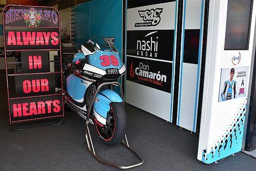 萨罗姆家人感谢MotoGP组委会给予的支持