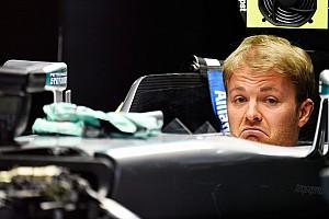 Rosberg újra a Mercedes garázsában - vendégként