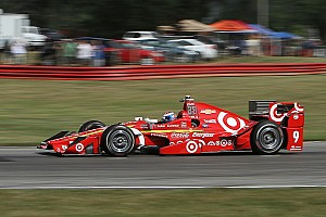 IndyCar Отчет о тренировке Диксон показал быстрейшее время на разминке и столкнулся со стеной