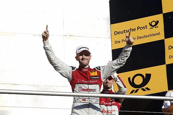 DTM DTM Hockenheim: Rast kampioen in debuutjaar, Wittmann wint slotrace